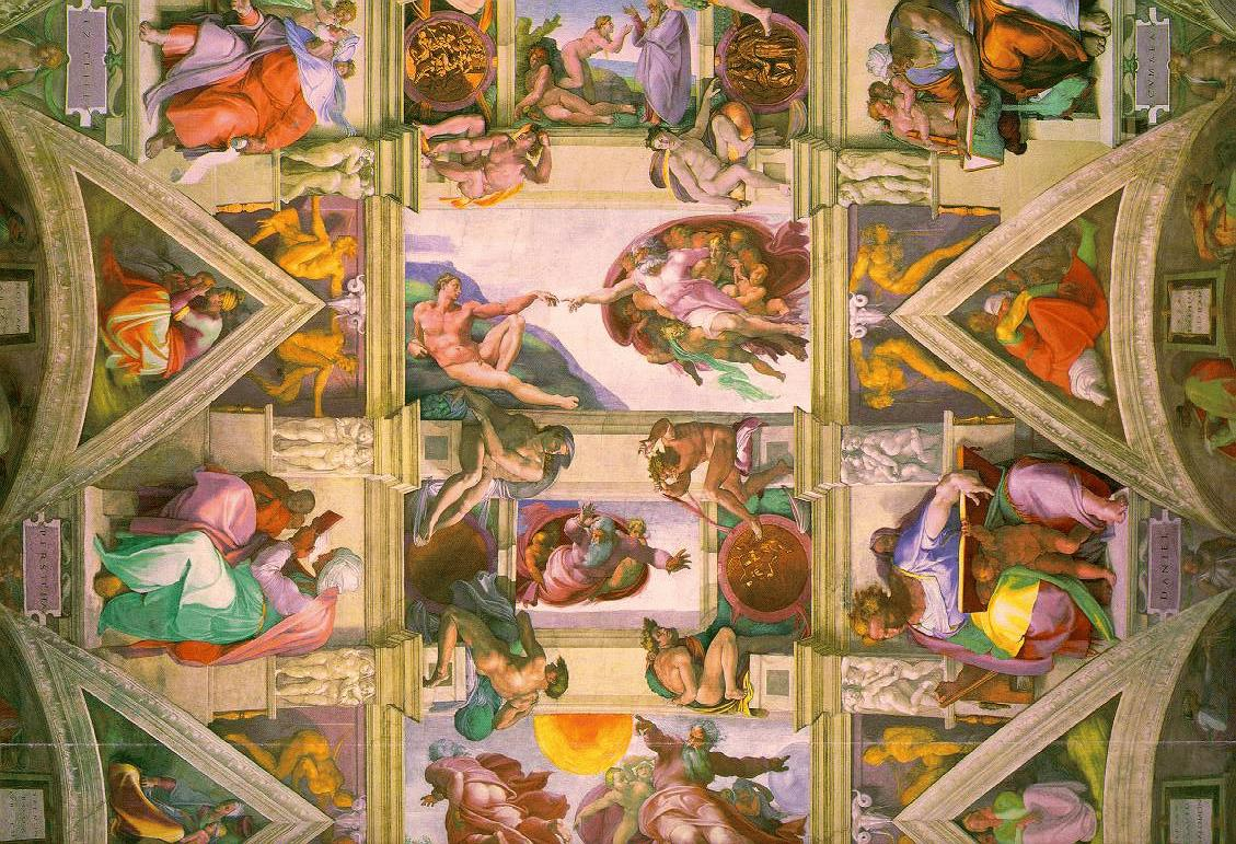Amazon.com: Michelangelo & the Creation of the Sistine Chapel