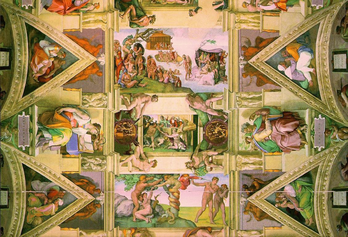 Paintings In The Sistine Chapel