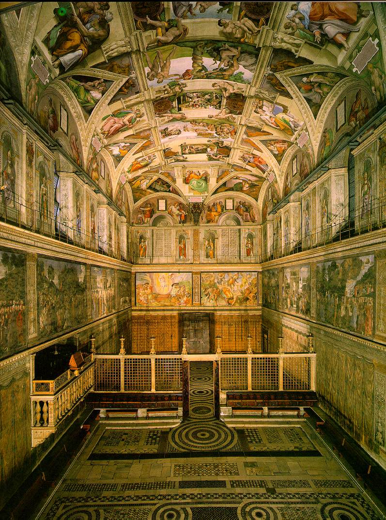 a history of the artworks of michelangelo at the sistine chapel in the vatican A little history of the sistine chapel the sistine chapel is one of the chapels of the apostolic palace in the vatican city, where the pope's official residence is located.