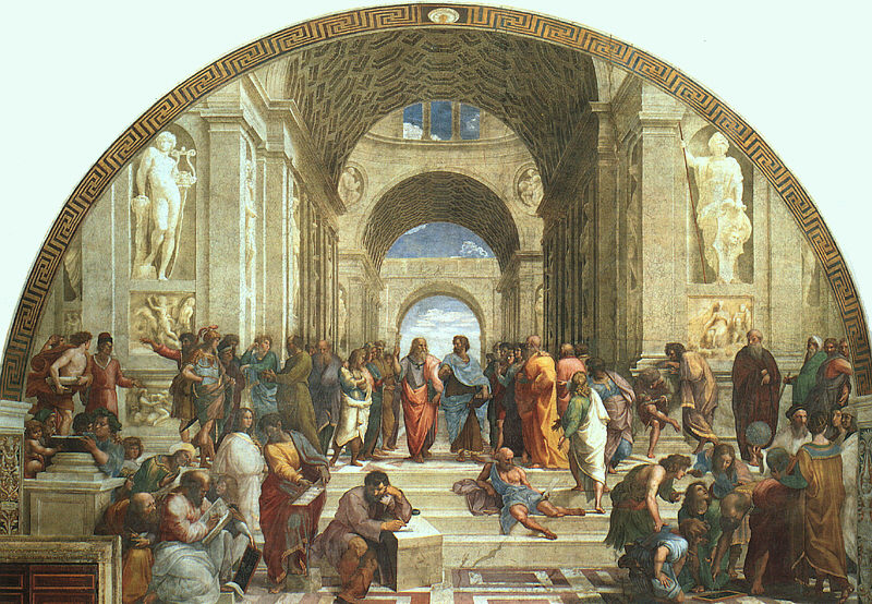 school of athens by raphael santi essay The school of athens - raffaello sanzio (1509-1510) apostolic palace, vatican city one of raphael's masterpieces, the school of athens, is an ideal representation of humanistic influence on.