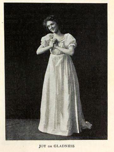 woman posing to show joy