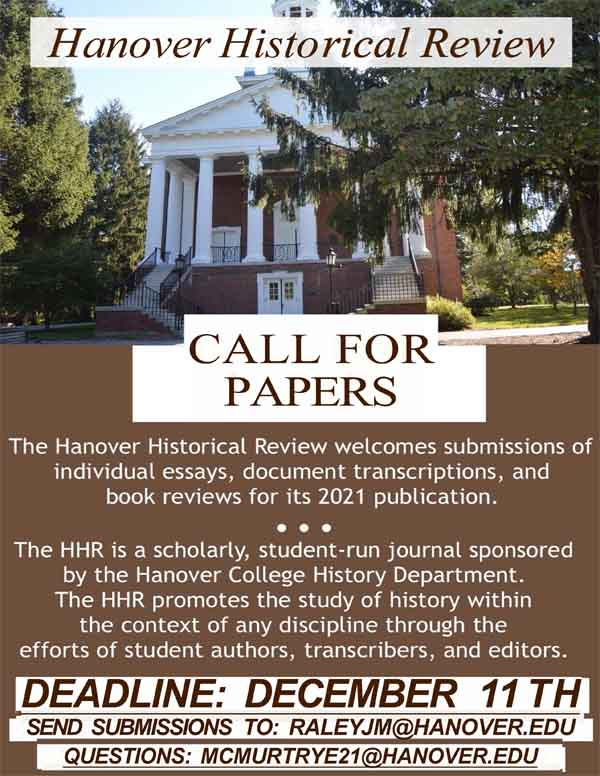 HHR call for papers